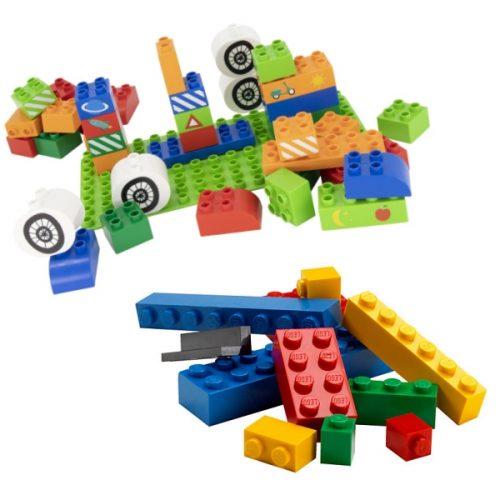 LEGO, LEGO DUPLO en alternatieve bouwblokken