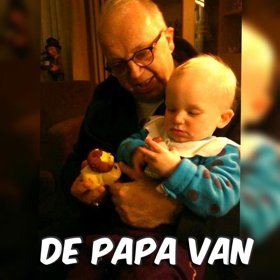 De papa van Maarten