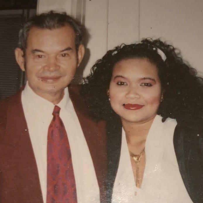 De papa van Tina foto vroeger