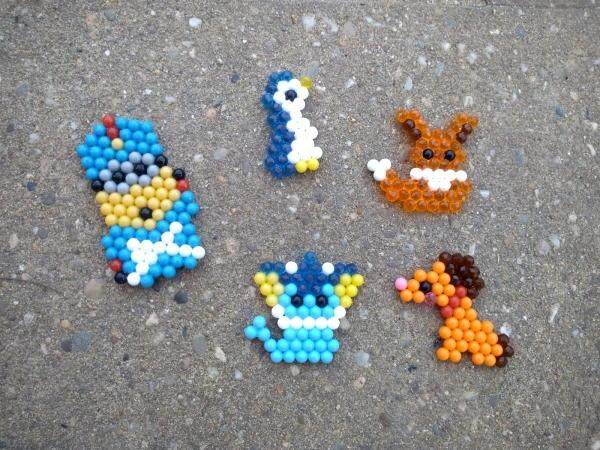 Aquabeads minions pokemon