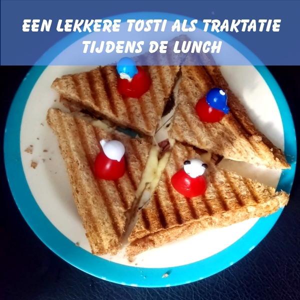 tosti bij de lunch