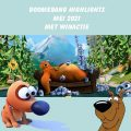 boomerang tv, flap de hond, scooby doo, grizzy en de lemmings, cartoon, tekenfilm