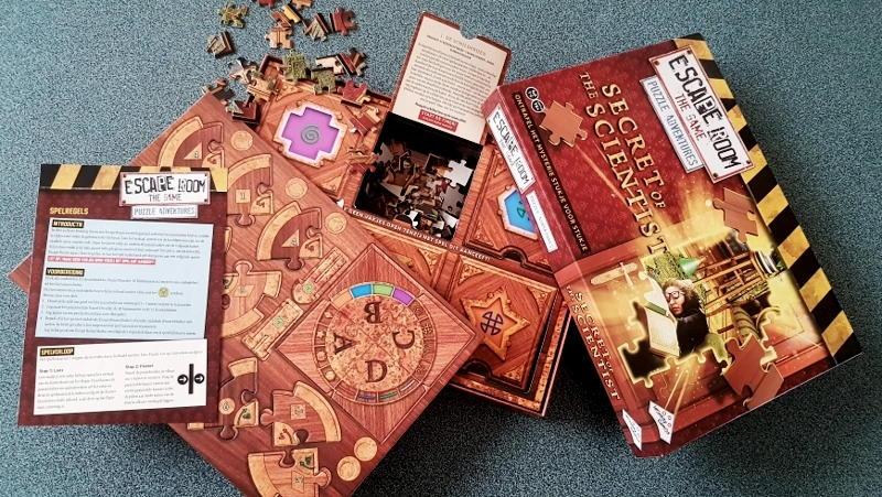 Escape Room The Game Puzzle Adventure inhoud
