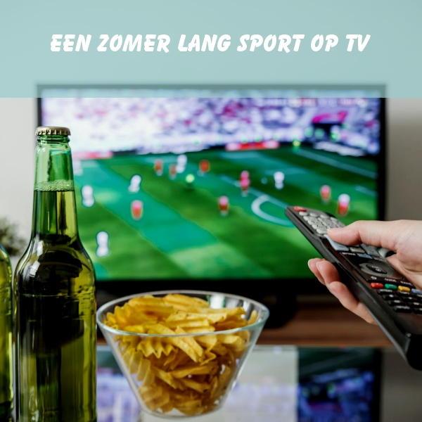 sport, televisie, voetbal, zomer