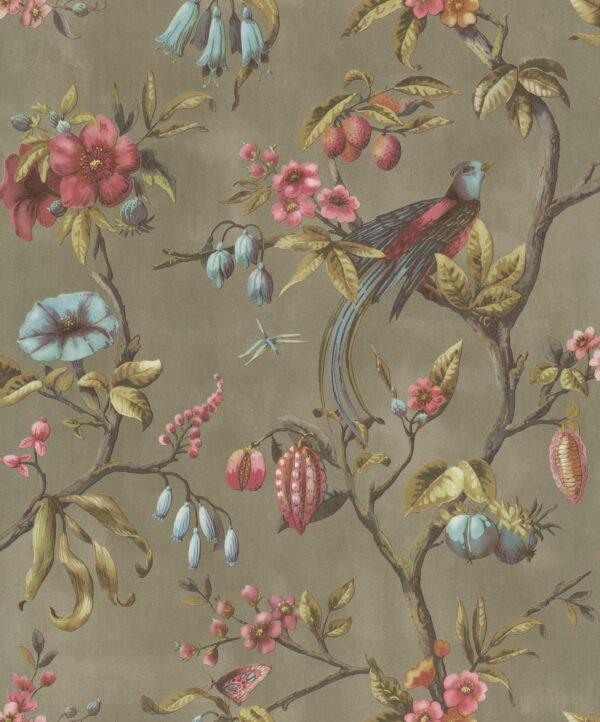 behang, volwassenen, inrichting, muur, decoratieve print, natuur