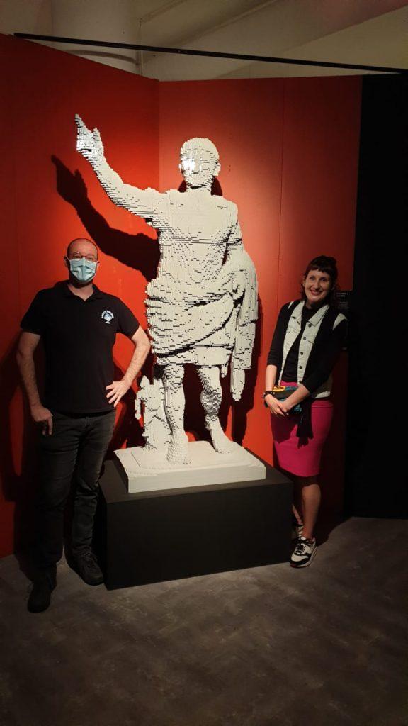 the art of the brick, nathan sawaya, amsterdam 2021, LEGO, kunstwerken van lego, lola nouwens