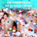 kinderfeestje, verjaardagsfeestje, discofeestje, kinderdisco, confetti