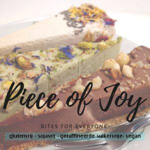piece of joy, glutenvrij, suikervrij, sojavrij, vegan, taart