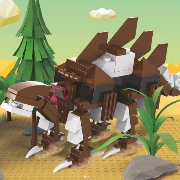 dinofabriek, van hoorne, lego, bouwsteentjes, professor driffeloor