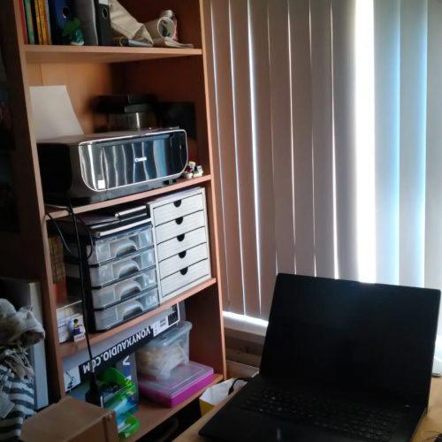 werkkamer, fest publishing, papa's wereld, kantoor