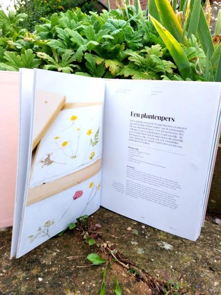 smûk, smuk, friesland, creatief, huiselijk, boek, plantenpers