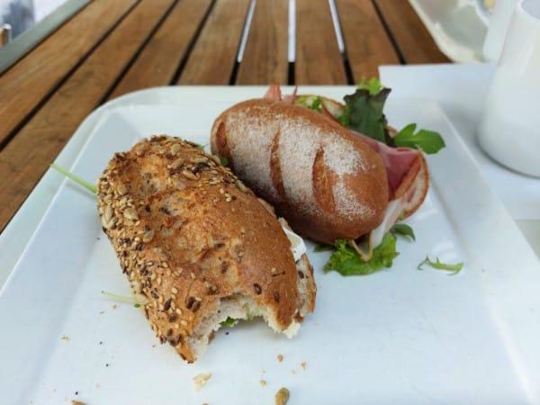 blogger by nature, glutenvrije broodjes, lunch