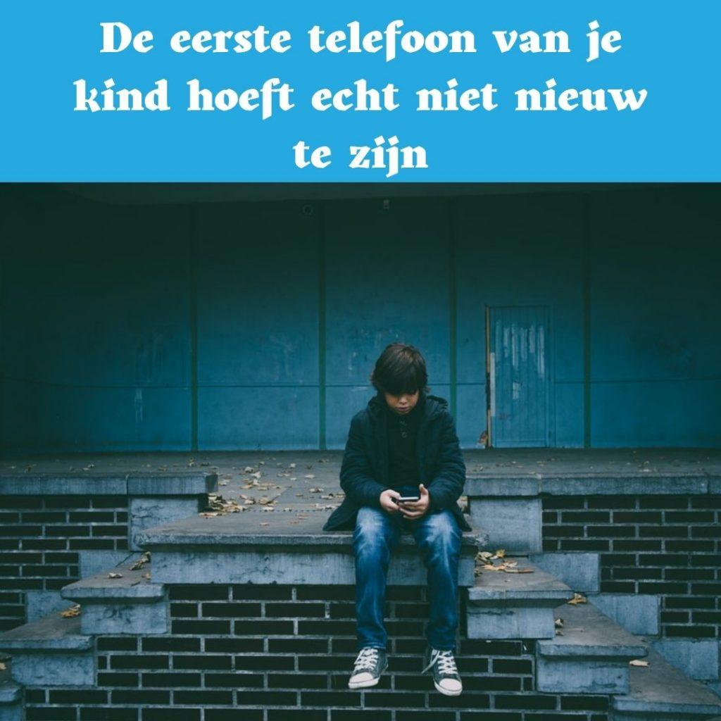 kind, smartphone, telefoon, eerste telefoon