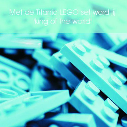 lego, lego titanic, titanic, bouwsteentjes, lego bouwen