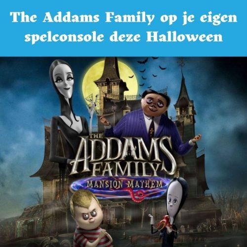 the addams family, spel, game, mansion mayhem
