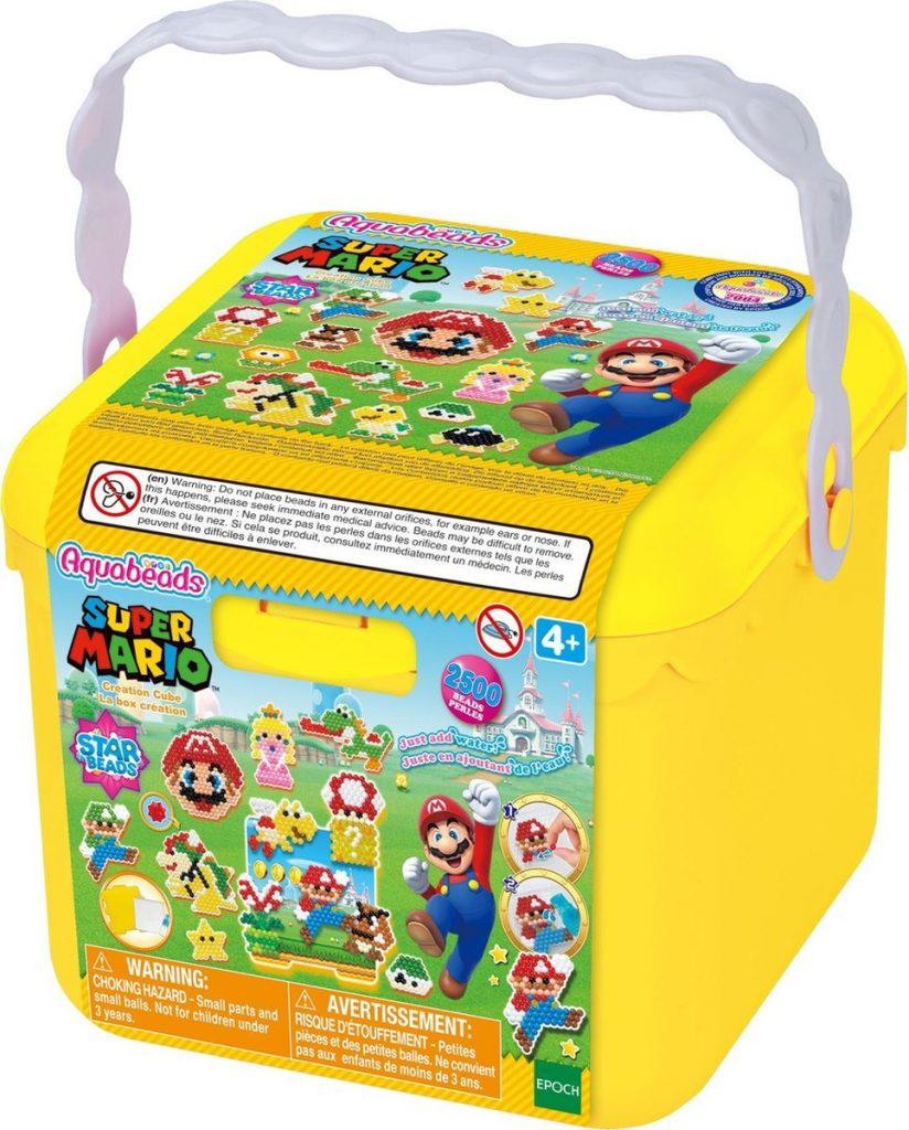 aquabeads, super mario, box