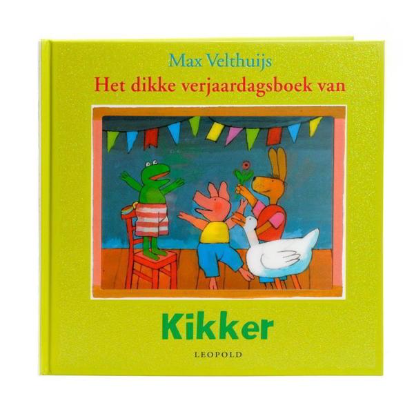 kinderboekenweek, kinderboek, kikker, max velthuijs