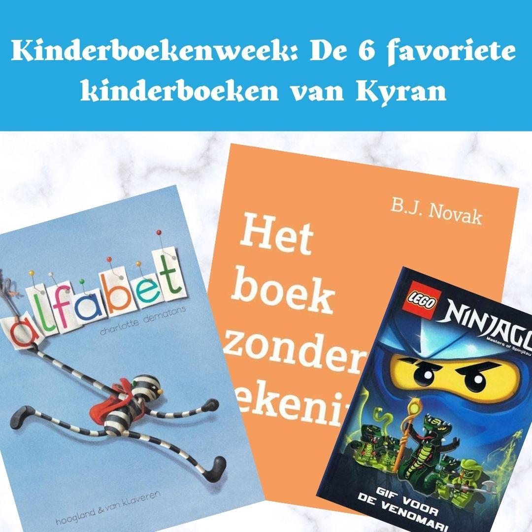 kinderboekenweek, kinderboek, favorieten kyran